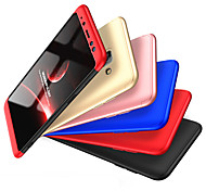 cheap -Case For Samsung Galaxy A8 2018 A8 Plus 2018 Shockproof Full Body Cases Solid Colored Hard PC for A8+ 2018 A8 2018