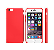 abordables -Funda Para Apple iPhone 8 iPhone 8 Plus Antigolpes Ultrafina Funda Trasera Color sólido Suave TPU para iPhone 8 Plus iPhone 8 iPhone 7