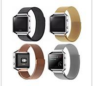 Недорогие -Ремешок для часов для Fitbit Blaze Fitbit Миланский ремешок Металл Повязка на запястье