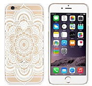 cheap -Case For Apple iPhone 8 iPhone 7 Pattern Back Cover Mandala Lace Printing Soft TPU for iPhone 8 Plus iPhone 8 iPhone 7 Plus iPhone 7