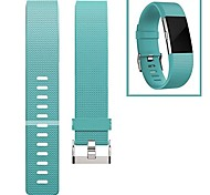 cheap -Watch Band for Fitbit Charge 2 Fitbit Modern Buckle Fluoroelastomer Wrist Strap
