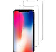 Недорогие -Защитная плёнка для экрана Apple для iPhone X Закаленное стекло 2 штs Защитная пленка для экрана Против отпечатков пальцев Защита от