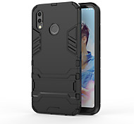cheap -Case For Huawei P20 lite Shockproof with Stand Back Cover Armor Hard PC for Huawei P20 lite