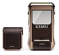 economico -Kemei Shavers elettrici for Da uomo 100-240V Multiuso / Disegno a mano / Luce e comodo