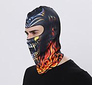 baratos -Máscara Facial Máscaras de Esqui Todas as Estações A Prova de Vento Á Prova-de-Pó Filtro Solar Respirabilidade Ciclismo / Moto Exterior
