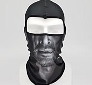 baratos -Máscara Facial Máscaras de Esqui Todas as Estações A Prova de Vento Filtro Solar Ciclismo de Estrada Ciclismo / Moto Unisexo Elastano