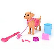 Недорогие -Товары для игр в профессии Животные Собаки Взаимодействие родителей и детей Пластиковый корпус Детские Подарок 13pcs