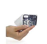 Недорогие -Кейс для Назначение Apple iPhone X / iPhone 7 Ультратонкий / С узором / Милый Кейс на заднюю панель Пейзаж / дерево Мягкий ТПУ для iPhone