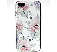 cheap -Case For Apple iPhone X / iPhone 7 Ultra-thin / Pattern / Lovely Back Cover Scenery Soft TPU for iPhone X / iPhone 8 Plus / iPhone 8