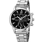 Недорогие -Муж. Спортивные часы Китайский Новый дизайн / Секундомер / Творчество Нержавеющая сталь / Кожа Группа На каждый день / Кольцеобразный