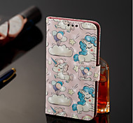 cheap -Case For Samsung Galaxy A6+ (2018) / A6 (2018) Wallet / Card Holder / with Stand Full Body Cases Unicorn Hard PU Leather for A6 (2018) /