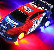 Недорогие -Машинка на радиоуправлении 10.2 CM Дрифт-авто / Высокая скорость 1:24 Коллекторный электромотор КМ / Ч со светодиодной подсветкой