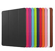 abordables -Funda Para Apple iPad Mini 4 Mini iPad 3/2/1 iPad 4/3/2 iPad Air 2 iPad Air con Soporte Origami Funda de Cuerpo Entero Color sólido Dura