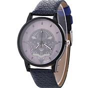 Недорогие -Жен. Нарядные часы / Наручные часы Китайский Повседневные часы / обожаемый / Череп PU / Материал Группа На каждый день / Мода Черный / Синий / Коричневый