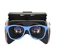 baratos -Óculos 3D Azul VR Virtual Reality Glasses Cubóide Silicone caa0d04adf