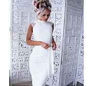 245ee79ebd8 cheap -Women  039 s Lace Party Work Elegant Skinny Bodycon Dress - Solid.  New. Women s Lace Party Work Elegant Skinny Bodycon Dress - Solid Color  White M L ...