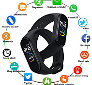 cheap -Men's Sport Watch Digital Modern Style Stylish Silicone Black / Blue / Red 30 m Water Resistant / Waterproof Heart Rate Monitor Exercise Record Analog Casual Fashion - Black Blue Red One Year Battery