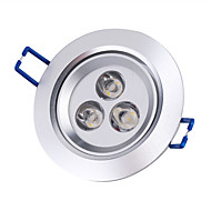 cheap -3000lm LED Ceiling Lights LED Recessed Lights Recessed Retrofit 3 LED Beads High Power LED Warm White 85-265V