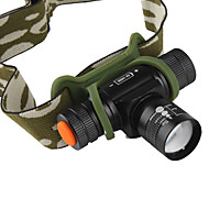 Headlamps Headlight LED 160 lm 3 Mode Cree XR-E Q5 with Charger Zoomable Rechargeable Compact Size Small Size Cycling/Bike