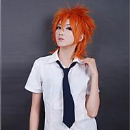 Cosplay Parykker Cosplay Cosplay Orange Kort Anime Cosplay Parykker 35 CM Varmeresistent Fiber Mand