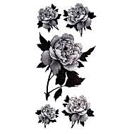 타투 스티커 꽃 시리즈 패턴 Waterproof 여성 Girl Teen 플래시 문신 임시 문신