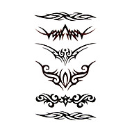 #(5) Tatoveringsklistermærker Andre Mønster VandtætDame Pige Teenager Flash tatovering Midlertidige Tatoveringer