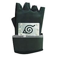 Rękawiczki Zainspirowany przez Naruto Cosplay Anime Akcesoria do Cosplay Rękawiczki Černá PU Leather (skóra kompozytowa) Męskie / Damskie