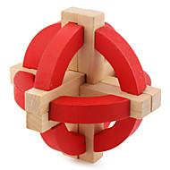 お買い得  おもちゃ & ホビーアクセサリー-ウッドパズル / 頭の体操 / 知恵の輪 / 木製立体パズル プロフェッショナルレベル / スピード / IQテスト 木製 クラシック・タイムレス 男の子 ギフト