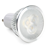 3W GU10 LED-kohdevalaisimet MR16 3 ledit Teho-LED 300-350lm Neutraali valkoinen Himmennettävissä AC 220-240