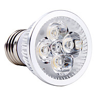 1 개 4 W 250LM E26 / E27 LED 스팟 조명 4 LED 비즈 고성능 LED 따뜻한 화이트 / 차가운 화이트 / 내추럴 화이트 85-265 V