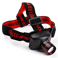 Headlamps Headlight LED 800 lm 3 Mode Cree XR-E Q5 Zoomable for Camping/Hiking/Caving Batteries not included