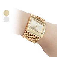 Недорогие Женские часы-Жен. Часы-браслет Модные часы Японский Кварцевый Горячая распродажа Медь Группа Блестящие Elegant Золотистый