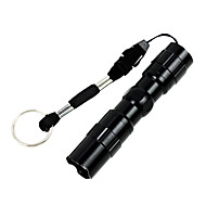 cheap -LED Flashlights / Torch LED 50lm 1 Mode Waterproof / Easy Carrying / Super Light Camping / Hiking / Caving