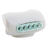 tanie Latarki-Przednia lampka rowerowa światła bezpieczeństwa LED Kolarstwo AAA Lumenów Bateria Kolarstwo