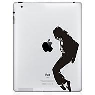 olcso iPad kijelzővédő fólia-tánc minta védő matrica az új iPad és iPad 2