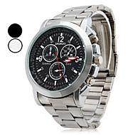 ieftine Bijuterii&Ceasuri-Bărbați Quartz Ceas de Mână Ceas Casual Aliaj Bandă Charm Argint