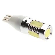 T15 Araba Beyaz 8W Yüksek Performans LED 6000-6500 Yan Lambalar Çift Taraflı lamba Yüksek Çıkış