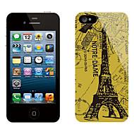 Ретро дизайн Эйфелевой башни Pattern Защитные наклейки для iPhone 5