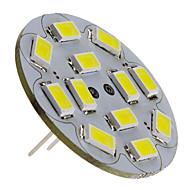 3w g4 led spotlight 12 smd 5730 250lm natuurwit 6000k dc 12v