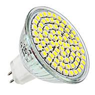 お買い得  LED スポットライト-4W 300-350 lm E14 GU10 GU5.3(MR16) E26/E27 LEDスポットライト MR16 80 LEDの SMD 3528 温白色 ナチュラルホワイト DC 12V AC 220-240V