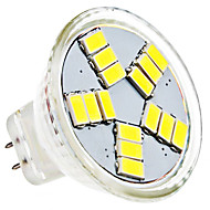 voordelige -1,5w gu4 (mr11) led spotlight mr11 15 smd 5630 120-150lm natuurwit 6000k ac 12v