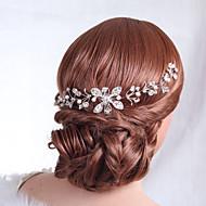 お買い得  -女性の合金のヘッドピース - 結婚式の特別な機会の花エレガントなスタイル