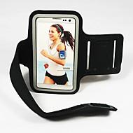For Med vindue Armbånd Etui Armbånd Etui Helfarve Blødt Tekstil for Universal S4 S3 S2 S