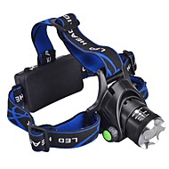Stirnlampen Schweinwerfer LED 1000 lm 3 Modus Cree XM-L T6 inklusive Batterien und Ladegerät Camping / Wandern / Erkundungen Für den