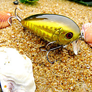 pcs Hard Bait Crank White Gold Red g/Ounce mm inch,Hard Plastic Sea Fishing Freshwater Fishing