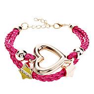Women's Pentagram Love Braided Bracelet