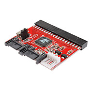0.2m 0.6ft uusi 3,5 ide hdd SATA 100/133 serial ata-muunnin adapteri + kaapeli
