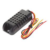 billige Arduino-tilbehør-AM2301 Kapacitiv Digital Temperatur Fugtighed Sensor - Sort (3,3 ~ 5.5V)