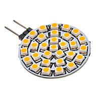 Χαμηλού Κόστους LED Φώτα με 2 pin-SENCART 90-110 lm G4 GU4(MR11) LED Σποτάκια 30 leds SMD 3528 Θερμό Λευκό AC 12V