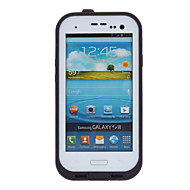 Cool Airtight Tough Protective Waterproof Plastic Case for Samsung Galaxy S3 i9300 (White)